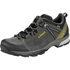 Lowa Ledro GTX Low Shoes Men anthracite/kiwi